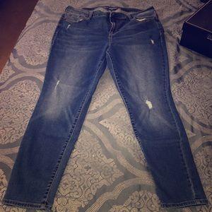 Old Navy Mid-Rise Rockstar Skinny Jeans